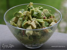 Мексиканская закуска из авокадо