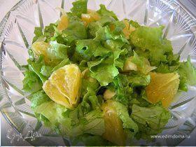 Салат с апельсинами по-мароккански