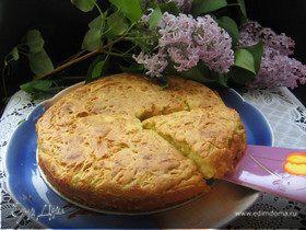 Сырно-кабачковый пирог