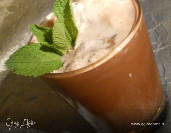 Лето 2011: холодный мятно-шоколадный кофе