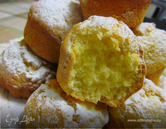 Лимонно-мандариновые кексы