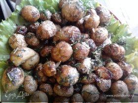 Молодая жаренная картошечка