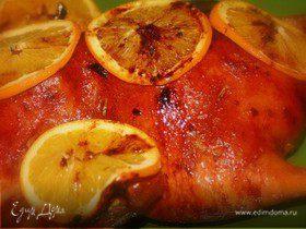 Утка с апельсинами по-французски