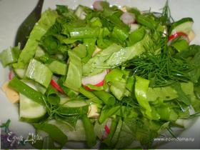 Страшно полезный салатик)))