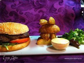 говяжий гамбургер