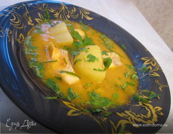 Французский рыбный суп (обед во французском стиле № 1)