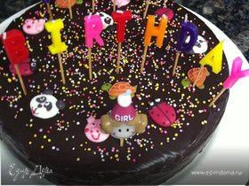 "Chocolate Mud Cake (Торт ""Шоколадная Грязь"")"