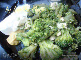 """Курица с зелеными овощами """"Вкусная диета"""""""