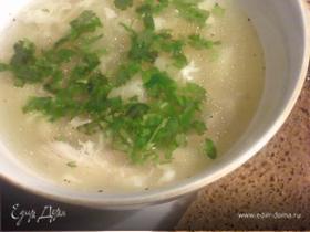 Суп куриный по-китайски.