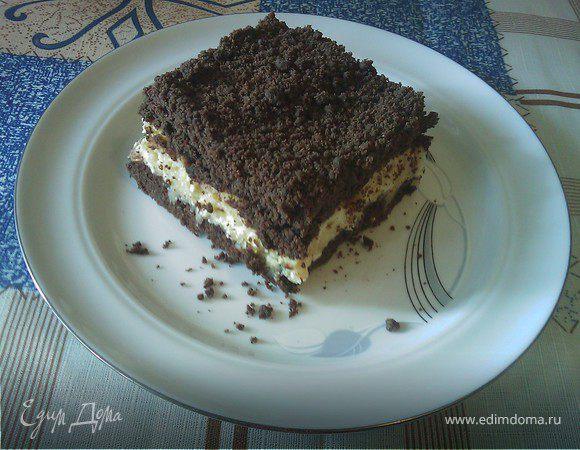 Шоколадный пирог.