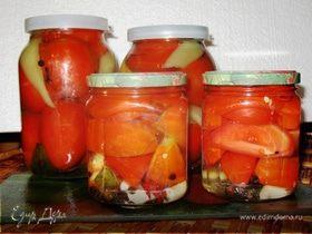 Консервированые помидоры с гвоздикой (без уксуса)