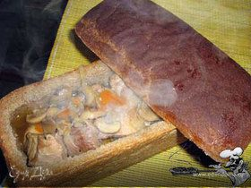 Мясо, пиво и корочка хлеба