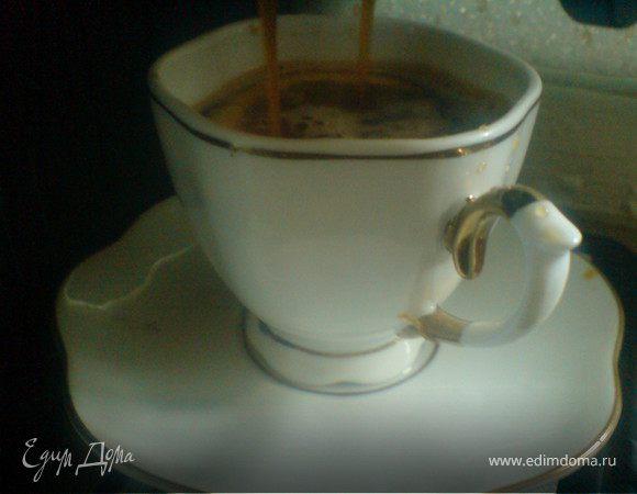 Кофе с мёдом и лимонным соком