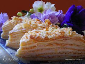 La tendresse renversée ( заварной торт)