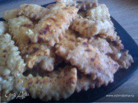 Хрустящие сырные палочки с паприкой
