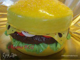 Гамбургер, сладкий, а потому что ТОРТ)