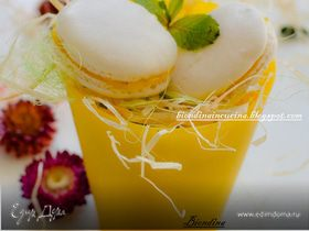 Macaron с лаймовым кердом