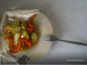 Тушеные овощи прованс и диетический сибас