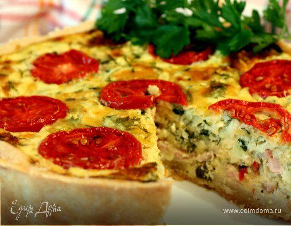 Киш с цукини - кулинарный пошаговый рецепт с фото на KitchenMag.ru
