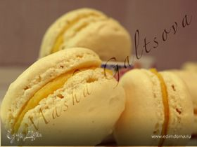 Апельсиновые Macarons