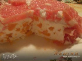 Творожно-цитрусовый десерт для Анны
