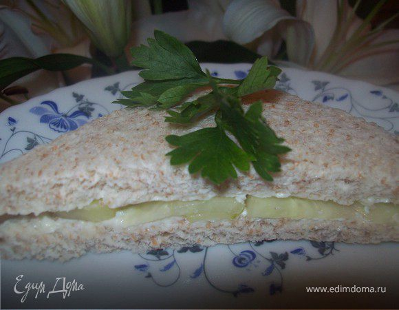 Английские сэндвичи с огурцом