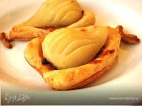 Пирожные с грушами