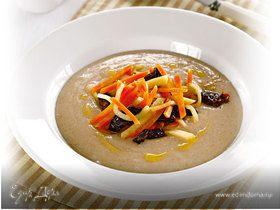 Деревенский суп с ржаными хлопьями