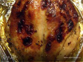 Запечённая куриная грудка
