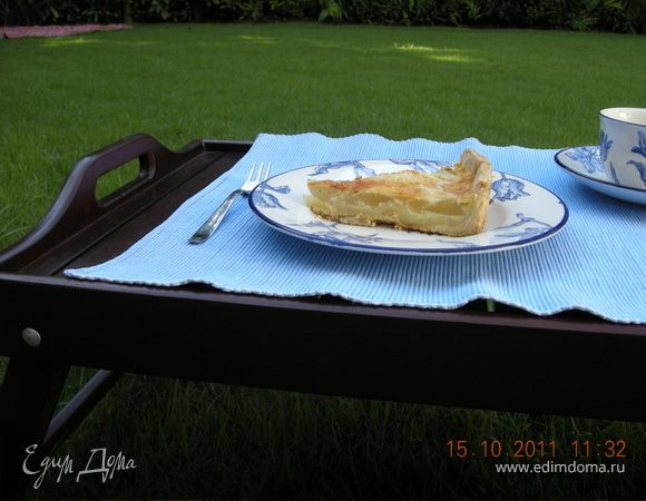 Пирог-Суфле с грушами