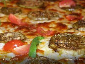 Пицца с баклажанами