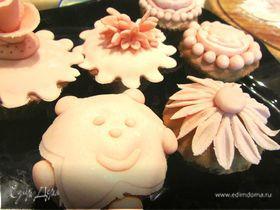 Кексы с шоколадом для детского праздника!