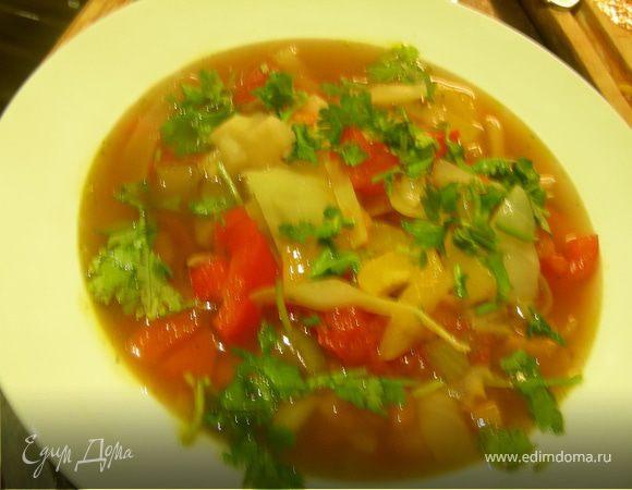 Марроканская овощная похлебка