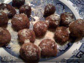 Шоколадные трюфели от Ники