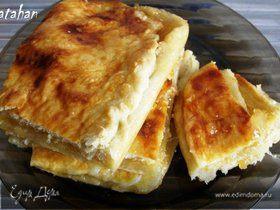 Пирог Лимонник (из лже-слоёного теста)