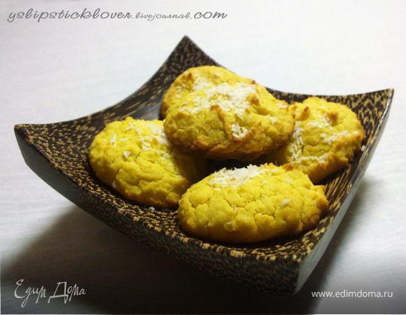 Кокосовое печенье из рисовой муки