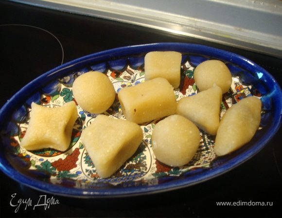 """Марципановые конфеты """"Сладкая геометрия"""""""