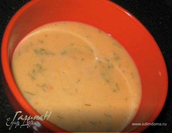 Детский крем-суп из цветной капусты