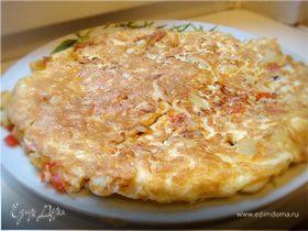Tortilla Española с соусом айоли