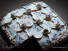 Шоколадный бисквит сеточка