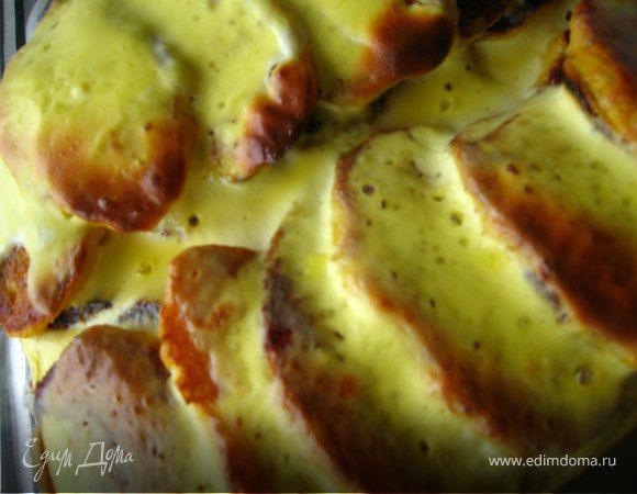 Тыквенно- творожные оладушки