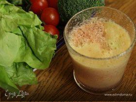 Томатно-яблочный сок с цветной капустой и брокколи