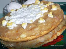 Торт «Яблочное искушение»
