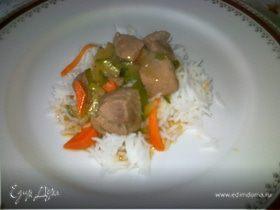 Сычуаньская свинина с болгарским перцем