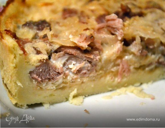 Картофельный пирог с индейкой