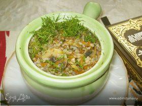 Гречневая каша с грибами «Трапеза юной монашки»