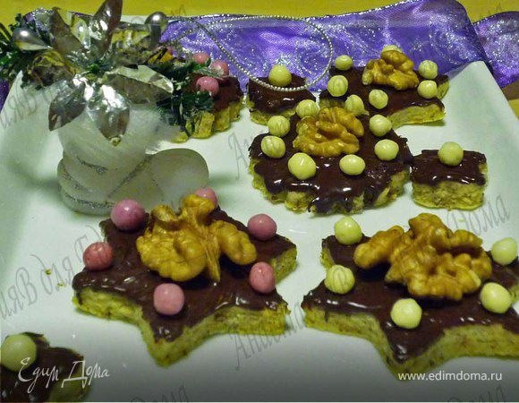 Новогоднее печенье с кардамоном. Tescoma.