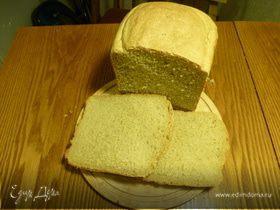 Ржаной хлеб на прессованных хлебопекарских дрожжях.