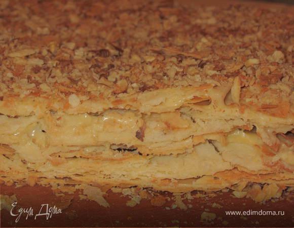 """Торт """"Наполеон"""" по рецепту свекрови=)"""