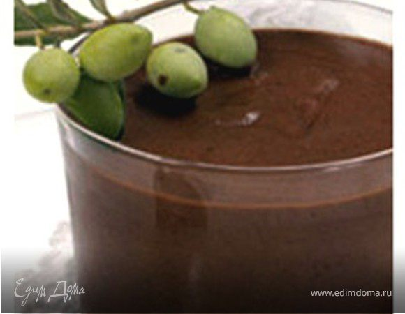 Шоколадный мусс с оливковым маслом